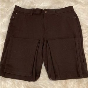 Chico's Brown Stretch Pants Size 2.5 Regular
